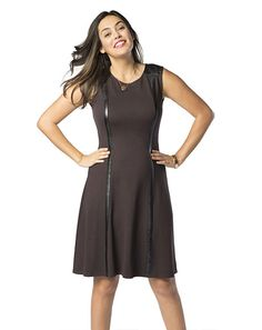 Little Brown Dress - Ruby Ribbon. what is not to love about this dress—fully lined with a shaping skirt.