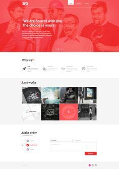 Tru web studio #ui #ux #webdesign