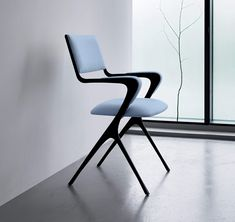 34 Stunning Contemporary Dining Chairs Design Ideas - Who would have thought that picking out a contemporary dining chair could be so complicated? Well, really it is not but it helps to have some tips on . Contemporary Dining Chairs, Modern Chairs, Contemporary Furniture, Types Of Furniture, New Furniture, Furniture Design, Upholstered Dining Chairs, Table And Chairs, Chair Design