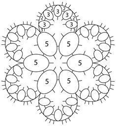 Flower motif tat