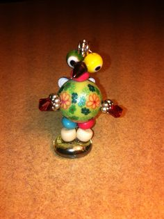 Native American Large Bead Doll colorful by MichelesMenagerie2, $11.00
