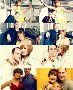 Christopher Meloni and Mariska Hargitay - I had to put them together because I love them as best friends more than just about anything.