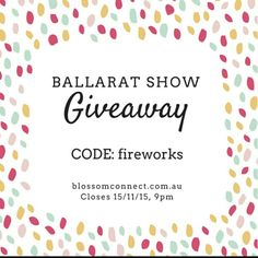 It's Ballarat Show Day!!!  And to celebrate the Free Youth Pavillion at this year's show, we have a giant Family Prize Pack up for grabs valued at over $290. The hottest Christmas Toys from Vtech, confectionery, typo, pamper pack for mim and heaps more.  Take the codeword and head over to our website to pop in your entry. Too easy!