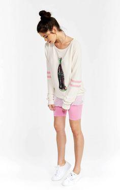 Wildfox Lip Tease Baggy Beach Jumper - Frendz & Co. Wildfox, Jumper, Cute Outfits, Lips, Sweatshirts, Beach, Clothes, Shopping, Vintage