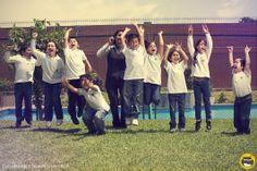 Sesiónes grupales mas espontáneas y divertidas para  el anuario escolar por fín de curso. Colegio Privado San Luis Rey de Surco •  Monterrico