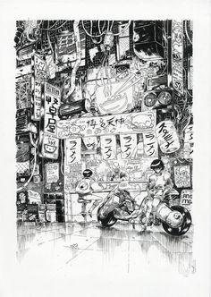 Invité d'honneur du prochain FIBD, Katsuhiro Otomo, le papa d'Akira, voit sa venue en France être consacrée par une très belle exposition organisée par le festival d'Angoulême et la Galerie ...