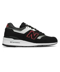 check out b8947 e6a37 Homme New Balance 997 Noir Blanc Rouge