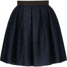 Orla Kiely Sparkle Skirt ($360) ❤ liked on Polyvore