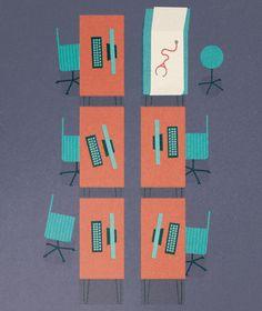 seattle business illustration // gavin potenza