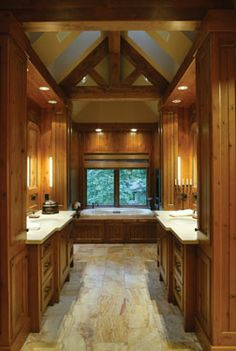 Spa Style Bathrooms Log Cabin