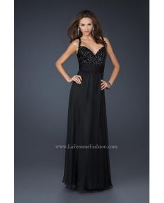 Jovani Prom -La Femme 17148 prom dress - Lafemme 2012 - lafemme17148 - US$154.02 - english