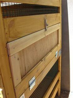 Ikea hack for chicken coop