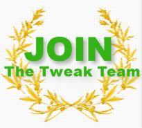 Join The Tweak Team