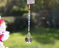 Crystal Butterfly Suncatcher Prism Window Decoration in Blue, Clear and Red. Guardian Angel Gifts, Feng Shui Energy, French Colors, Crystal Gifts, Crystal Sphere, You Are Awesome, Suncatchers, Wind Chimes, Butterfly