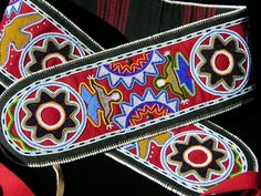 Beadwork by Roger Amerman (Choctaw). Photo courtesy of the artist…