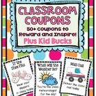 """My students love these.  I think the """"no shoes"""" classroom reward is their favorite!"""