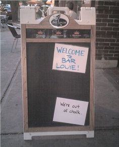 35 Funny Sandwich Board Signs Seen Outside Bars And Pubs Restaurant Signs Funny, Funny Bar Signs, Pub Signs, Sandwich Board Signs, Outside Bars, Blunt Cards, Business Signs, Chalkboard Signs, Beer Brewing