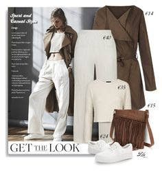 """""""Get the look for less"""" by fashion-architect-style ❤ liked on Polyvore featuring Topshop and SONOMA Goods for Life"""