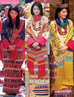 Her Majesty Gyaltsuen Jetsun Pema Wangchuck. Royal Wedding of Bhutan