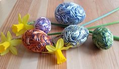 Decorative Embroidered Eggs, Home Decor Eggs, Easter Eggs, Easter Decorations, Basket Filler, Egg Decoration, Home Decor, Home Accents by MonaSaadHandmade on Etsy