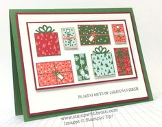 Bearing Gifts…Lots of Gifts…for PP215, stampwithbrian