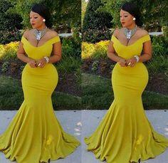 Sexy Wedding Dresses, Sexy Dresses, Prom Dresses, Bridesmaid Dresses, Big Girl Fashion, Curvy Fashion, African Attire, African Dress, Stunning Dresses