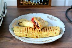 Tortilla z karkówką Ketchup, Grilling, Tacos, Mexican, Ethnic Recipes, Food, Crickets, Essen, Meals