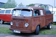 https://flic.kr/p/nauLSC | Volkswagen Type 2 T2b Doka Rat
