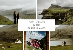 Inspiration for a Faroe Islands Elopement with a black wedding dress photographed by Wild Connections Photography. Reasons To Get Married, Iceland Wedding, Black Wedding Dresses, Faroe Islands, Elopement Inspiration, Intimate Weddings, Archipelago, Getting Married, Scenery