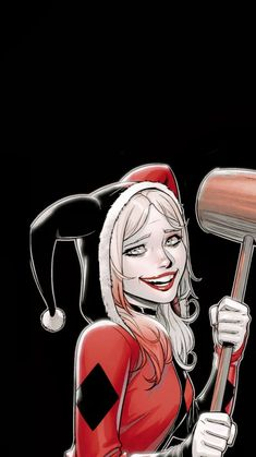 Harley Quinn Drawing, Joker And Harley Quinn, Dc Comics Art, Comics Girls, Gotham Girls, Queen Art, Batman Family, Gotham City, Comic Character