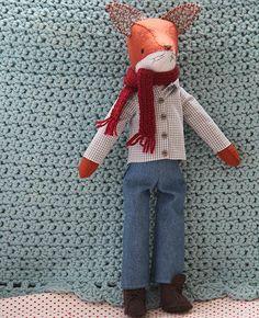 Mr. Basil Fox Softie Sewing Pattern