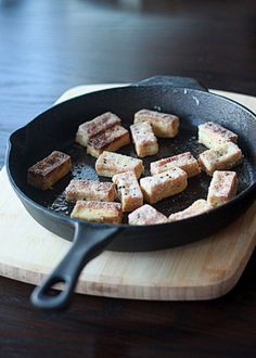 Crispy salt & pepper tofu | Kitchen Treaty