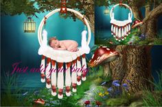 Newborn digital backdrop background photography | Newborn baby boys & girls…