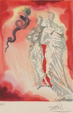 Salvador Dalí's 100 Illustrations of Dante's The Divine Comedy