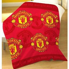 Manchester United Fleece Blanket by Manchester United. $28.99. 100% Polyester. Official Licensed Product. Manchester United F.C.. Fleece Blanket. Approx: 125Cm X 150Cm. Manchester United F.C. Fleece Blanket 100% Polyester Approx: 125Cm X 150Cm Official Licensed Product