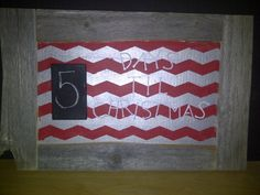 bulletin board made into sign