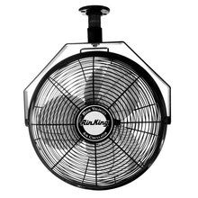 """View the Air King 9718 18"""" 3190 CFM 3-Speed Industrial Grade Ceiling Mount Fan at Air King @ VentingDirect.com."""