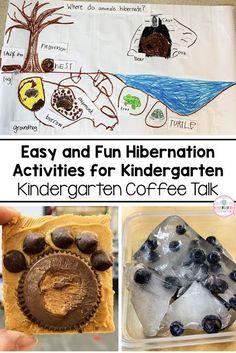 Kindergarten Coffee Talk: Hibernation Inquiry #kindergarten #science #hibernation #inquiry #inquirybasedlearning #reading