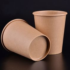 12oz Sugarcane Paper Coffee Cup Cafe Supplies Disposable Milk Tea Drink Cup Wedding Party Drinkware