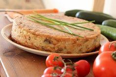 פשטידת תפוחי אדמה ופטריות חלבית Baked Potato, Cheesecake, Turkey, Meat, Baking, Ethnic Recipes, Food, Life, Cheesecake Cake