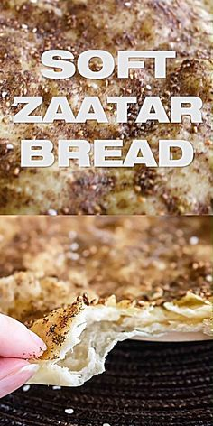 Lebanese Zaatar Bread - Lebanese Zaatar Bread – Manakish, Manoushe Flatbread Recipe, breakfast bread, flatbread, middle e - Fun Easy Recipes, Easy Meals, Zatar Recipes, Comida Armenia, Arabic Food, Arabic Bread, Arabic Dessert, Middle Eastern Recipes, Lebanese Recipes