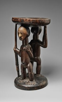 Democratic Republic of the CongoA LUBA STOOL, Auktion 1054 Afrikanische und ozeanische Kunst, Lot 61