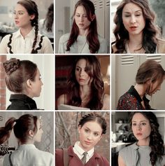 Spencer Hastings + favorite hairstyles