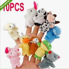 Different Cartoon Animal Finger Puppets Soft Velvet Dolls Props Toys,,Christmas Day Products,Gifts Products Educational Toys For Preschoolers, Educational Toys For Toddlers, Toddler Toys, Kids Toys, Velvet Dolls, Felt Finger Puppets, Silly Puppets, Sock Puppets, Puppet Toys