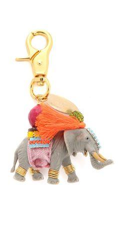 Lenora Dame Elephant Bag Charm | SHOPBOP