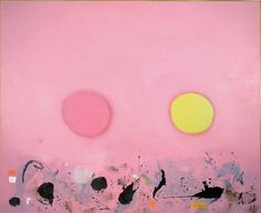 Adolph Gottlieb, Two Disks, 1963