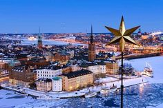 Stockholm in winter Most Beautiful Cities, Wonderful Places, Stockholm Winter, Scandinavian Countries, Sweden Travel, Christmas Town, Winter Travel, Travel Inspiration, Places To Visit