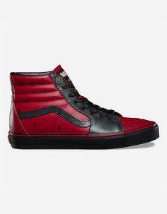 f825bff9ac7 VANS x Marvel Deadpool Sk8-Hi Shoes Deadpool