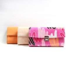 more colorful leather wallets coming up soon on #etsy and my shop  www.elfenklang.com