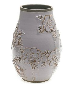 Take a look at this Lavender Large Carmen Vase by Accent Décor on #zulily today!
